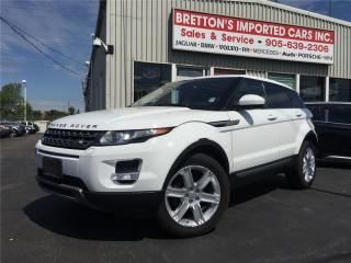Used 2014 Land Rover Evoque PURE PLUS PREM for sale in Burlington, ON
