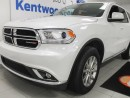 Used 2017 Dodge Durango SXT AWD with a sunroof, third row seating with rear climate control! for sale in Edmonton, AB
