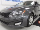 Used 2015 Kia Optima LX GDI with power heated seats. We know you'd love it! for sale in Edmonton, AB