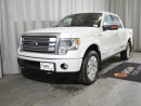 Used 2014 Ford F-150 Platinum 4x4 SuperCrew Cab 5.5 ft. box 145 in. WB for sale in Red Deer, AB