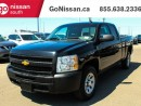 Used 2013 Chevrolet Silverado 1500 WT 4x2 Extended Cab 6.6 ft. box 143.5 in. WB for sale in Edmonton, AB