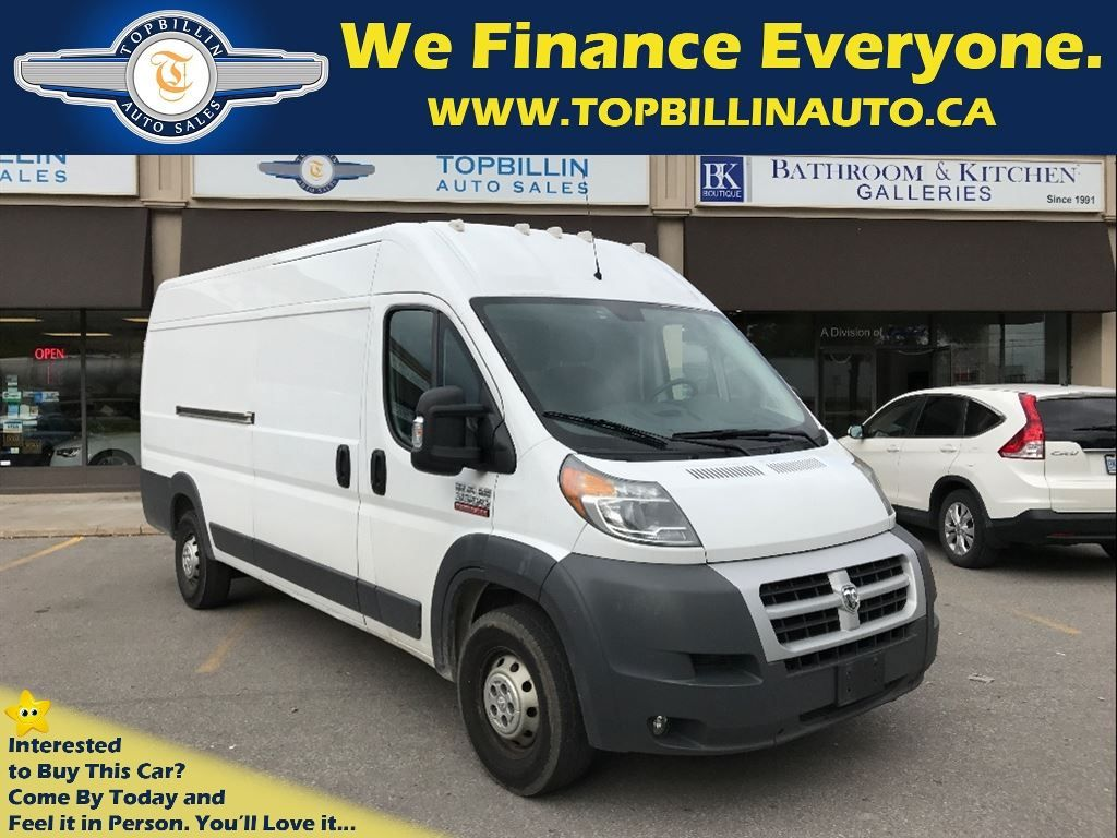 2014 RAM 3500 ProMaster Diesel, High Roof, Extended 159 WB