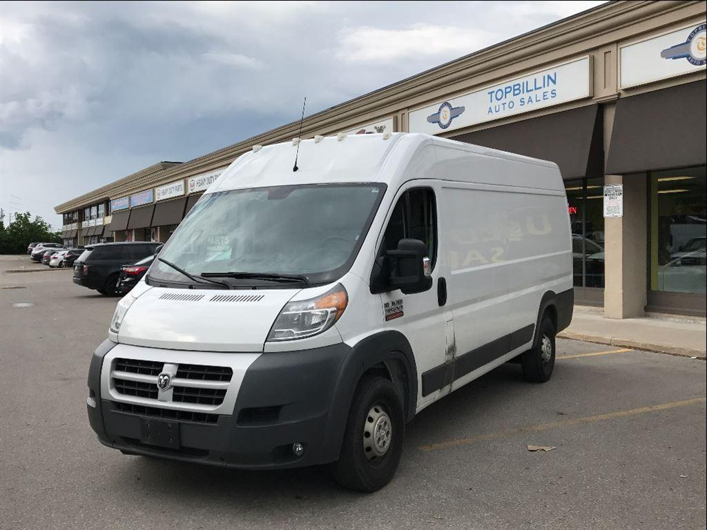 used 2014 ram 3500 promaster diesel high roof extended 159 wb for sale in concord ontario. Black Bedroom Furniture Sets. Home Design Ideas