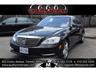 Used 2013 Mercedes-Benz S-Class 550 4 MATIC for sale in Etobicoke, ON
