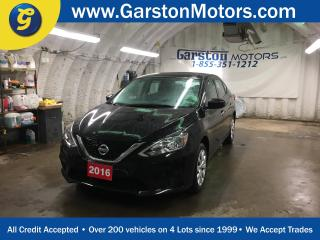 Used 2016 Nissan Sentra S*POWER WINDOWS/LOCKS/MIRRORS*KEYLESS ENTRY*CLIMATE CONTROL*AM/FM/CD/AUX/USB*ECO MODE*SPORT MODE* for sale in Cambridge, ON