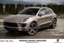 Used 2017 Porsche Macan Porsche Approved Certified. Fully Loaded! for sale in Vancouver, BC
