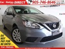 Used 2016 Nissan Sentra 1.8 S| ONE PRICE INTEGRITY| OPEN SUNDAYS| for sale in Burlington, ON