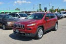 Used 2016 Jeep Cherokee Limited - 4x4  Leather  Sunroof  GPS  Sat Radio for sale in London, ON