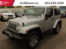 Used 2015 Jeep Wrangler MANUAL, LEATHER, DUAL TOP, for sale in Edmonton, AB
