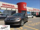 Used 2012 Honda Civic LX, one owner, automatic for sale in Scarborough, ON