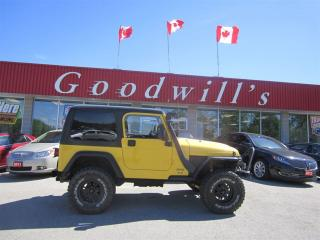 Used 2005 Jeep TJ AS IS! AS TRADED! for sale in Aylmer, ON