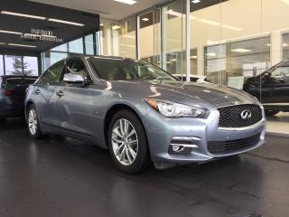 Used 2014 Infiniti Q50 Technology Package, Accident Free, One Owner for sale in Edmonton, AB