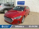 Used 2017 Hyundai Elantra Sunroof/Backup Cam/Heated Seats for sale in Edmonton, AB