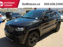 Used 2012 Jeep Grand Cherokee Laredo 4x4 Black Edition Leather Sunroof Navi Low Kms! for sale in Edmonton, AB