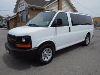 Used 2012 Chevrolet Express 1500 LS ALL WHEEL DRIVE 8Passenger 5.3L ONLY 107,000KMs for sale in Etobicoke, ON