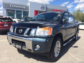 Used 2013 Nissan Titan SL for sale in Timmins, ON