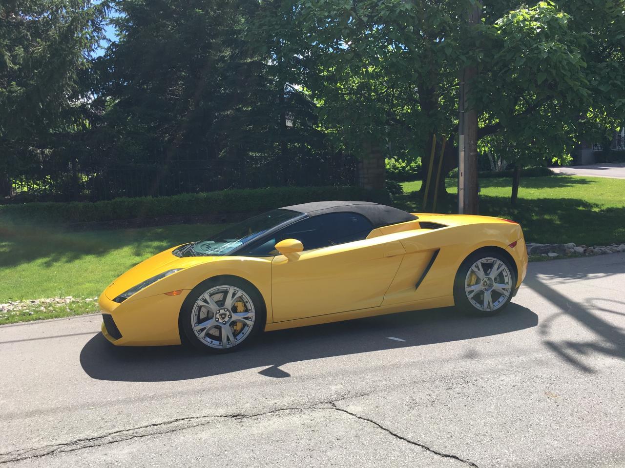 Photo of Yellow 2007 Lamborghini Gallardo SPIDER