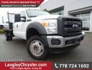 Used 2014 Ford F-550 Chassis XL ACCIDENT FREE W/ AIR CONDITIONING & 6.7L DIESEL for sale in Surrey, BC