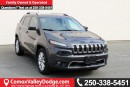 Used 2015 Jeep Cherokee Limited BLUETOOTH, HEATED SEATS, NAV, KEYLESS GO, BACK UP CAMERA, SUNROOF for sale in Courtenay, BC