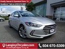 Used 2017 Hyundai Elantra GLS ACCIDENT FREE W/SUNROOF & SAFETY REAR CAMERA for sale in Surrey, BC