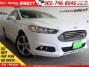 Used 2016 Ford Fusion SE| NAV-READY| BACK UP CAMERA & SENSORS| for sale in Burlington, ON