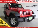 Used 2008 Jeep Wrangler X| LOCAL TRADE| ONE PRICE INTEGRITY| for sale in Burlington, ON