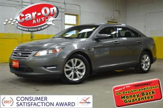 Used 2011 Ford Taurus SEL TIPTRONIC HEATED SEATS SYNC ALLOYS for sale in Ottawa, ON