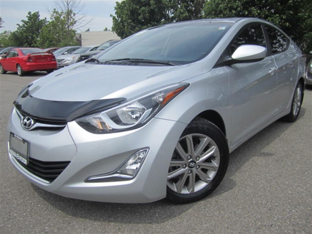Photo of Silver 2014 Hyundai Elantra
