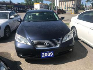 Used 2009 Lexus ES 350 NO ACCIDENT LEATHER SUNROOF ALLOY WHEELS for sale in Brampton, ON