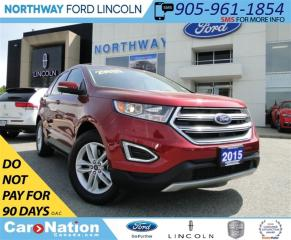 Used 2015 Ford Edge SEL | NAV |  HEATED SEATS | REMOTE START | for sale in Brantford, ON