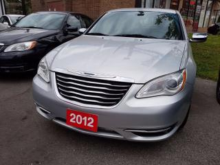Used 2012 Chrysler 200 Limited LEATHER SUNROOF NO ACCIDENT for sale in Brampton, ON