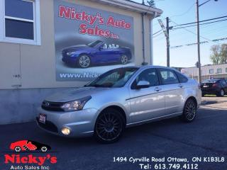 Used 2010 Ford Focus SES - LEATHER - ALLOY WHEELS - SUNROOF - MICROSOFT for sale in Gloucester, ON