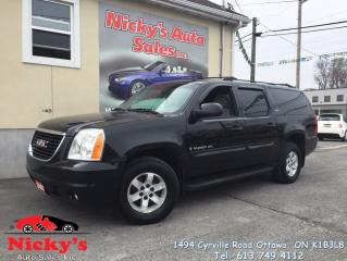 Used 2007 GMC Yukon XL SLT 1500, LEATHER, SUNROOF, DVD, 8-PASSENGERS, 4WD for sale in Gloucester, ON