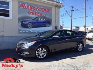Used 2013 Hyundai Sonata LIMITED, AUTO, LEATHER & SUNROOF, HEATED SEATS for sale in Gloucester, ON