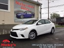 Used 2015 Toyota Corolla CE - AUTOMATIC - BLUETOOTH - FACTORY WARRANTY for sale in Gloucester, ON