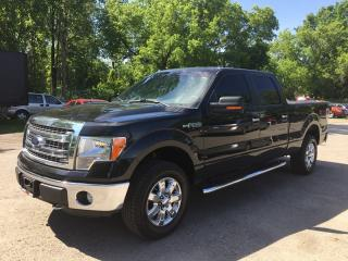 Used 2014 Ford F-150 PLATINUM * 4WD * ONE OWNER * LEATHER * REAR CAM for sale in London, ON