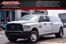 Used 2016 Dodge Ram 3500 ST 4x4|Diesel|Bed Cap|Bedliner|Tow Hitch|Side Steps|Low Kms|Bluetooth for sale in Thornhill, ON
