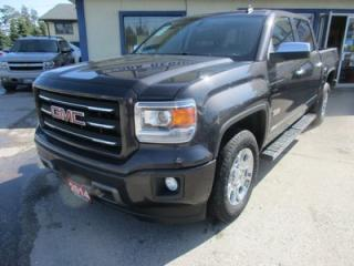 Used 2014 GMC Sierra 1500 LOADED ALL TERRAIN EDITION 5 PASSENGER 5.3L - V8.. 4X4.. CREW.. SHORTY.. LEATHER TRIM.. HEATED SEATS.. BACK-UP CAMERA.. POWER MIRRORS.. for sale in Bradford, ON