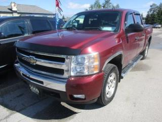 Used 2009 Chevrolet Silverado 1500 READY TO WORK LT MODEL 6 PASSENGER 5.3L - V8.. 4X4.. CREW.. SHORTY.. POWER MIRRORS.. CD/AUX INPUT.. for sale in Bradford, ON
