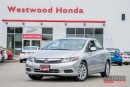 Used 2012 Honda Civic EX-L Factory warranty until 2019 for sale in Port Moody, BC