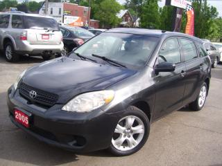 Used 2005 Toyota Matrix XR for sale in Kitchener, ON