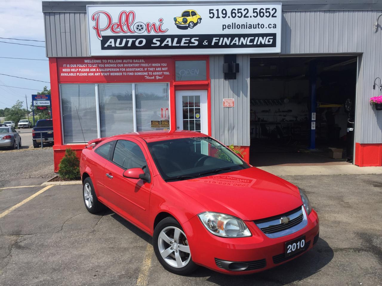 used 2010 chevrolet cobalt lt coupe alloys automatic sale. Black Bedroom Furniture Sets. Home Design Ideas