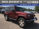 Used 2008 Jeep Wrangler Sahara for sale in Guelph, ON