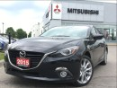 Used 2015 Mazda MAZDA3 GT| TECH| BLIS| HEADUP DISPLAY | CLEAN CARPROOF| for sale in Mississauga, ON