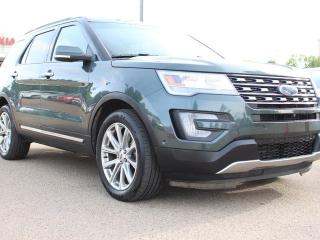 Used 2016 Ford Explorer LIMITED, DUAL SUNROOF, POWER REAR SEATS, COOLED/HEATED SEATS, HEATED WHEEL, NAVI, BACKUP CAM for sale in Edmonton, AB