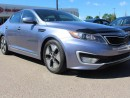 Used 2012 Kia Optima Hybrid HYBRID, NAVI, DUAL SUNROOF, COOLED/HEATED SEATS, HEATED WHEEL, HEATED REAR SEATS, BUTTON START for sale in Edmonton, AB