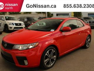 Used 2013 Kia Forte Koup MANUAL, LEATHER, SUNROOF for sale in Edmonton, AB