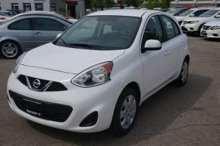 Used 2017 Nissan Micra SV for sale in Scarborough, ON