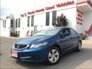 Used 2014 Honda Civic Sedan LX  ** New Tires & Brakes ** for sale in Mississauga, ON