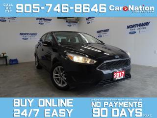 Used 2017 Ford Focus SE | 6 SPEED M/T | REAR CAM | BLUETOOTH for sale in Brantford, ON